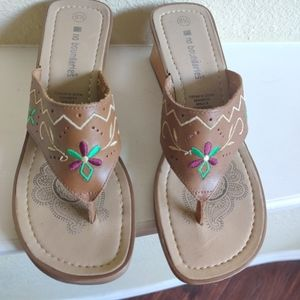 No boundaries Leather Sandals Made in Brazil